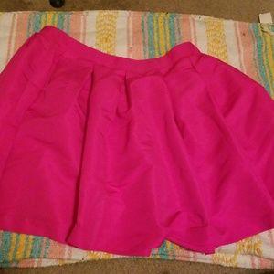 Pink Skater Skirt 0X
